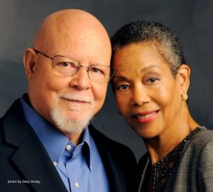 Barbara and Carlton Molette. Photo by Gary Gruby.